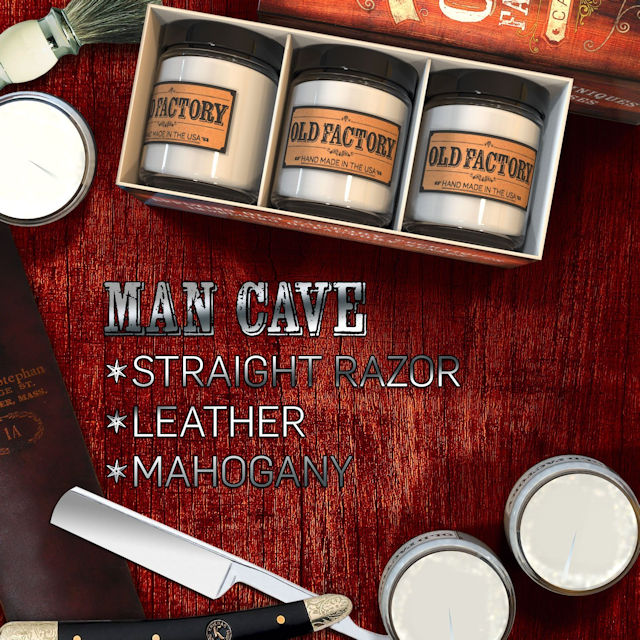 Man Cave Scented Candles