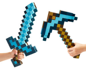Minecraft Sword Axe