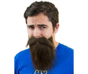 Fake beard and mustache